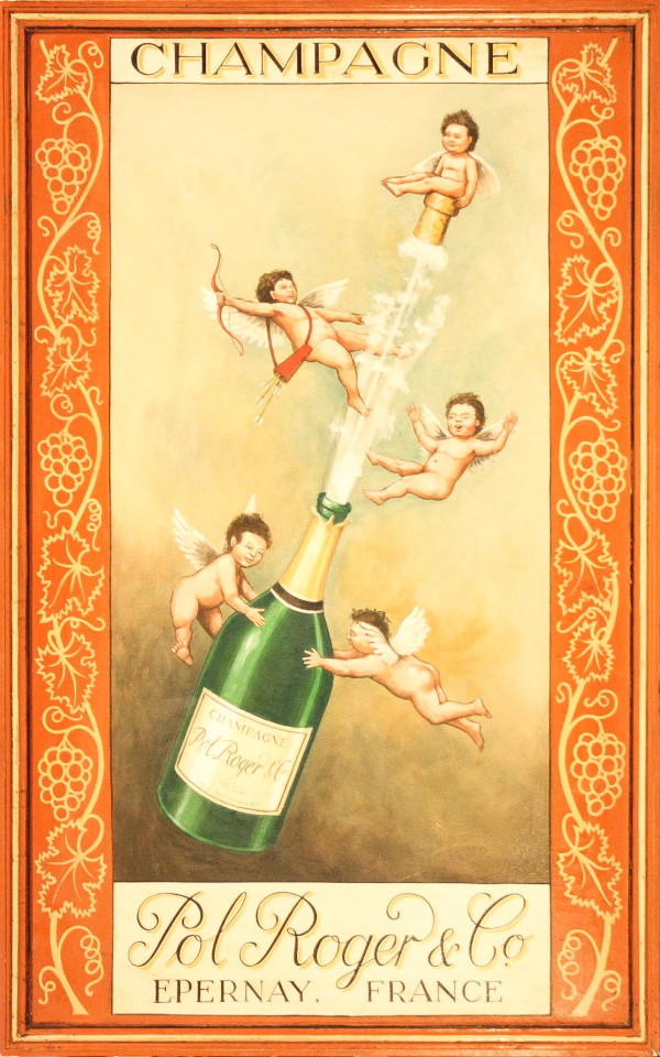 Champagne, Pol Roger & Co by 20th Century European