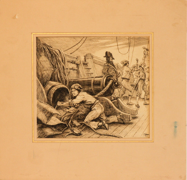 Captain of the Ship by 19th Century European