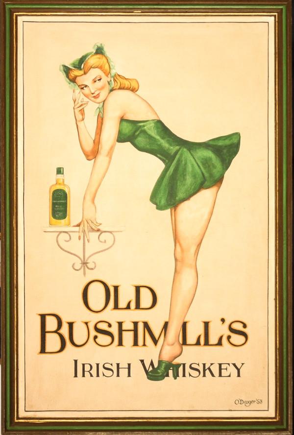 Old Bushmill's Irish Whiskey by 20th Century European