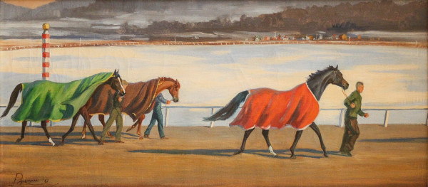 To the Paddock by Jean Bowman