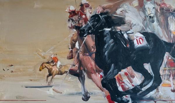 Les Joueurs de polo by Shahabuddin Ahmed
