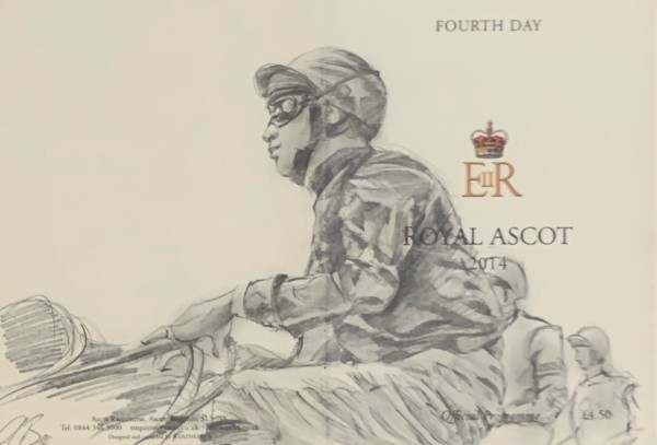 Fourth Day, Royal Ascot Program by Alan Brassington