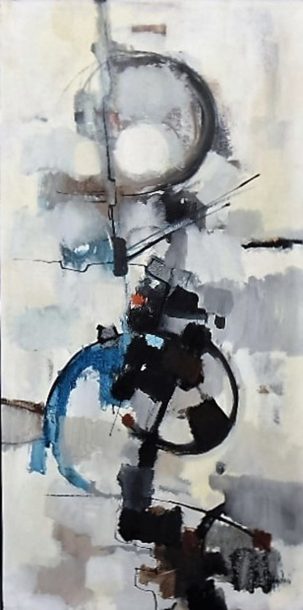 """""""Abstract"""" Study for Neiman Marcus Mural by Aldo Paolucci by Aldo Paolucci"""
