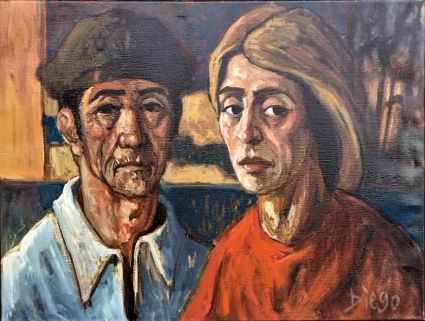 """The Fisher People"" by Antonio Diego Voci #C10 by Antonio Diego Voci"