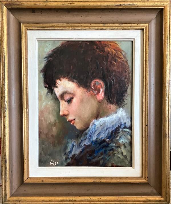 """""""Little Boy"""" by Antonio Diego Voci #C12 by Antonio Diego Voci"""