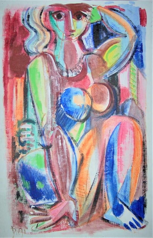 """Kaleidoscope Woman"" by Antonio Diego Voci #C35 by Antonio Diego Voci"
