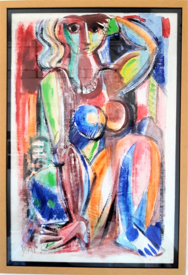 """Kaleidoscope Woman"" C35 by Antonio Diego Voci"