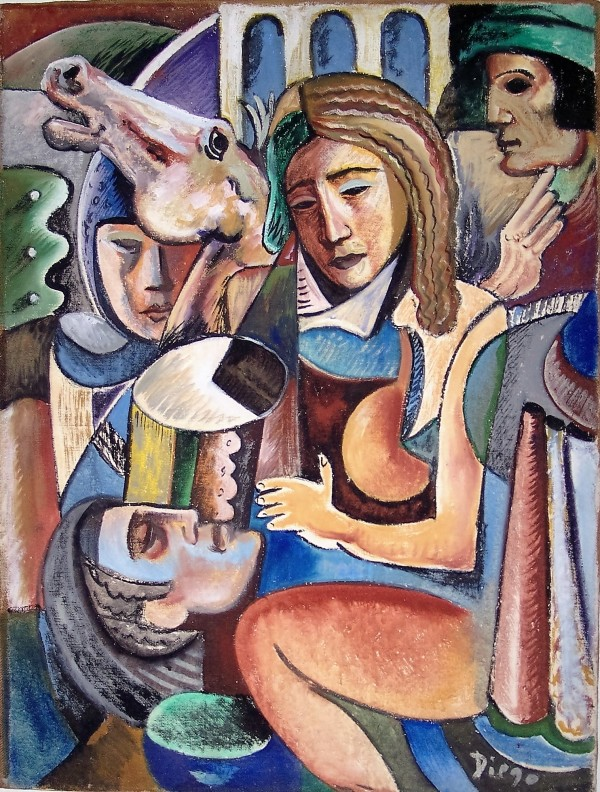 """Death in Battle"" by Antonio Diego Voci #C36 by Antonio Diego Voci"