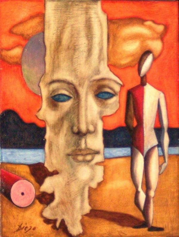 """Promenade"" by Antonio Diego Voci #C3 by Antonio Diego Voci"