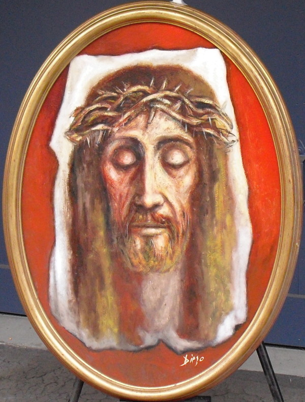 """Christo"" by Antonio Diego Voci #C50 by Antonio Diego Voci"