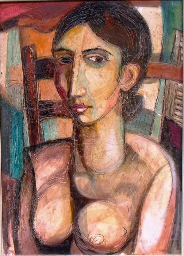 """Donna Seduta"" by Antonio Diego Voci #C54 by Antonio Diego Voci"