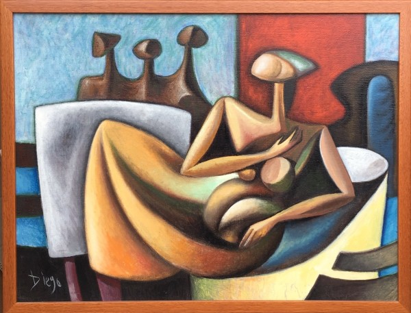 """""""Homage to Moore and Chadwick"""" #C58 (Composition)  by Antonio Diego Voci by Antonio Diego Voci"""