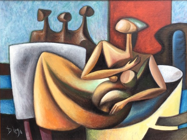 """Homage to Moore and Chadwick"" by Antonio Diego Voci #C58 by Antonio Diego Voci"