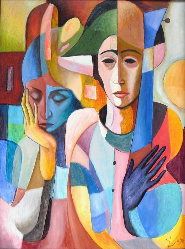 """""""Le Concert de Harlekin"""" by Antonio Diego Voci #C4 by Antonio Diego Voci"""