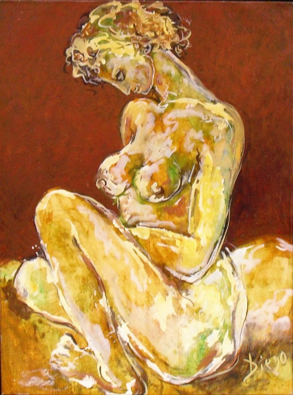 """""""Nude"""" by Antonio Diego Voci #C70 by Antonio Diego Voci"""