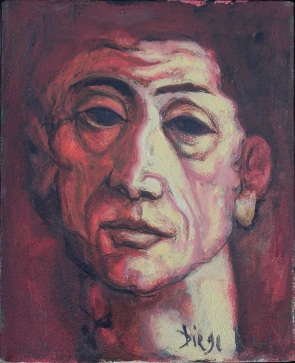 """Self-Portrait"" by Antonio Diego Voci #C74 by Antonio Diego Voci"