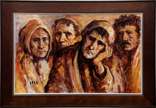 """Fisher People"" by Antonio Diego Voci #C90 by Antonio Diego Voci"