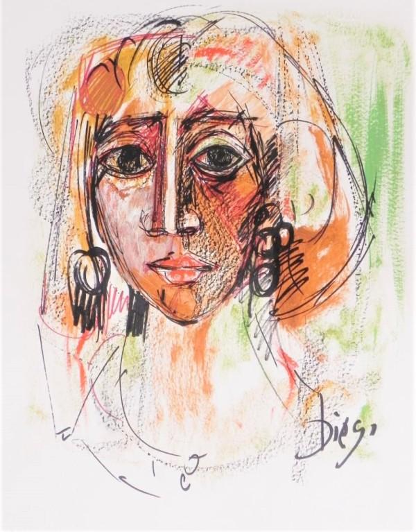 """Exotic Woman"" by Antonio Diego Voci  #CD12 by Antonio Diego Voci"