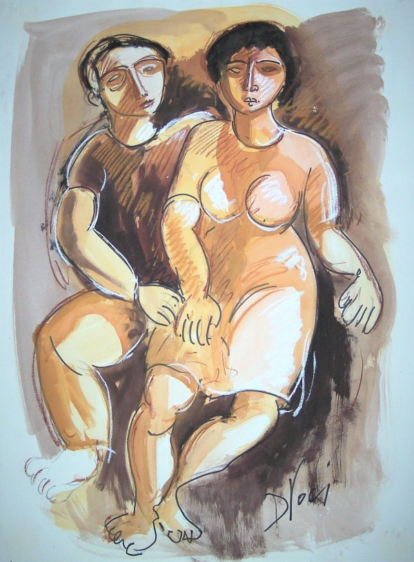 """""""Man and Woman (After #Leger)"""" CD19 by Antonio Diego Voci"""