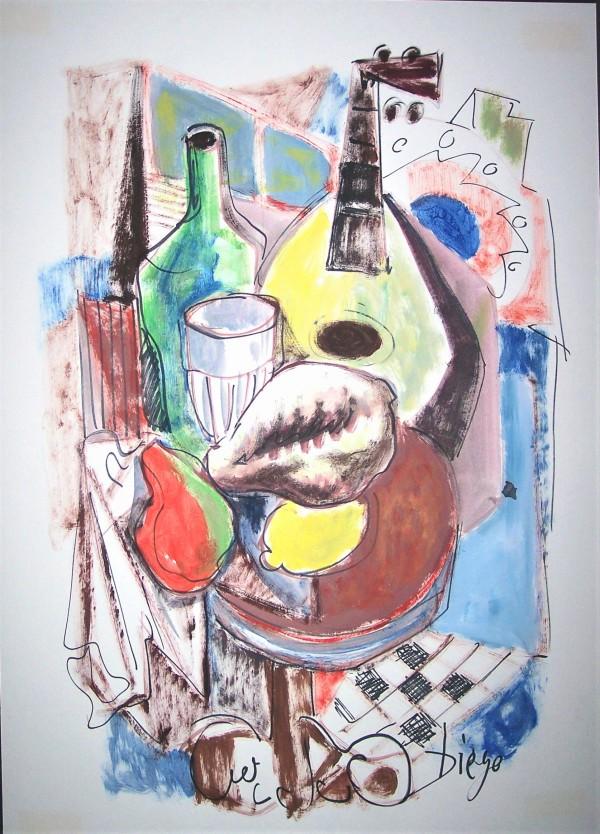 """Spanish Table""  CD24 by Antonio Diego Voci"