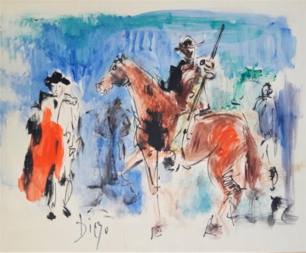 """Bullfight"" CD27 by Antonio Diego Voci"