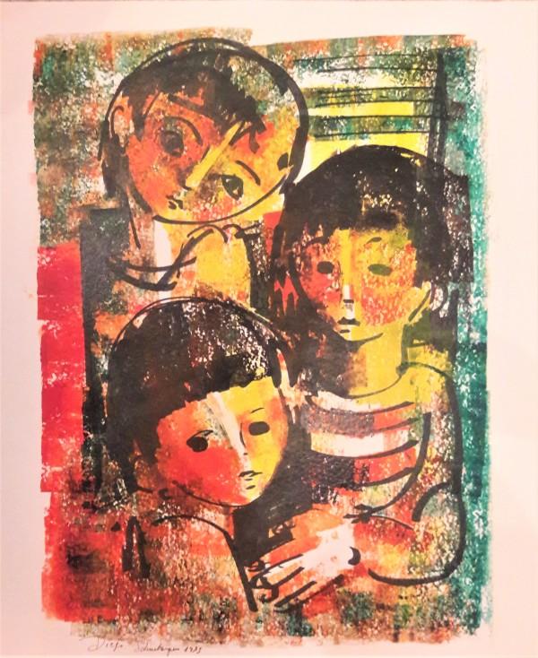 """""""Three Children"""" CD28 by Antonio Diego Voci"""