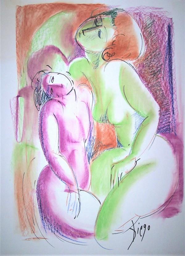 """""""Nudes Magenta""""  #CD3 by Antonio Diego Voci"""