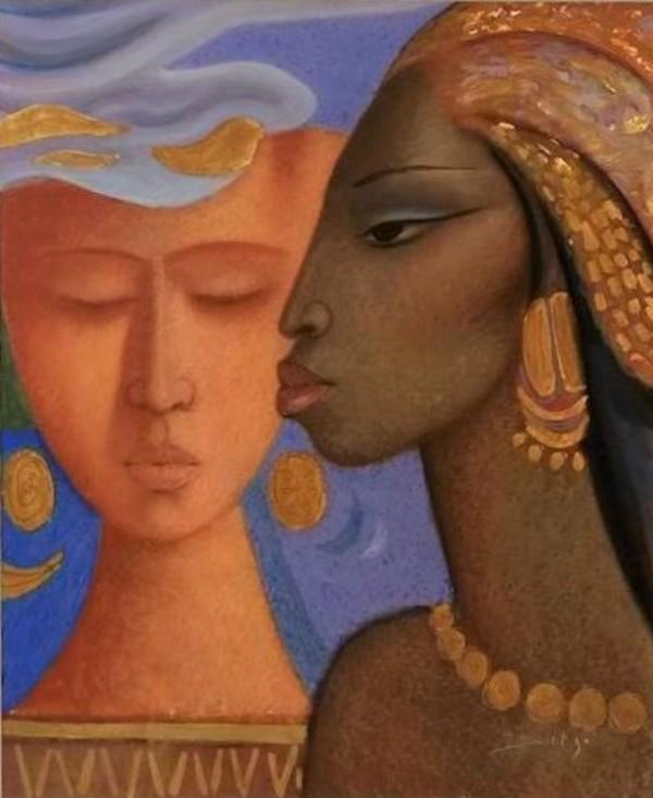 """Le Couple"" by Antonio Diego Voci by Antonio Diego Voci"