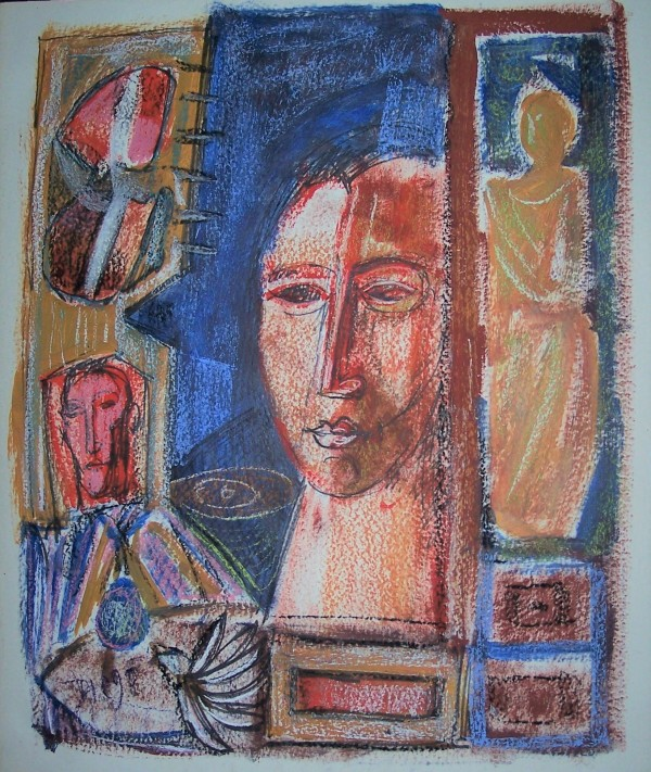 """""""Woman with Blue Hair"""" CD5 by Antonio Diego Voci"""