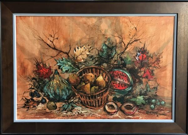 """""""Harvest Scene"""" Horizontal by Didier Grandt by Didier Grandt"""