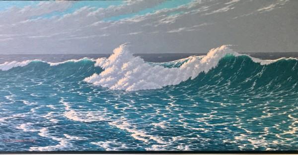 """Ocean Waves"" by J.K Dinesen by J.K. Dinesen"