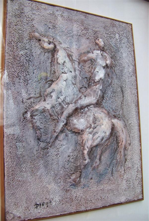 """""""Mann Mit Pferd"""" by Antonio Diego Voci by Antonio Diego Voci"""