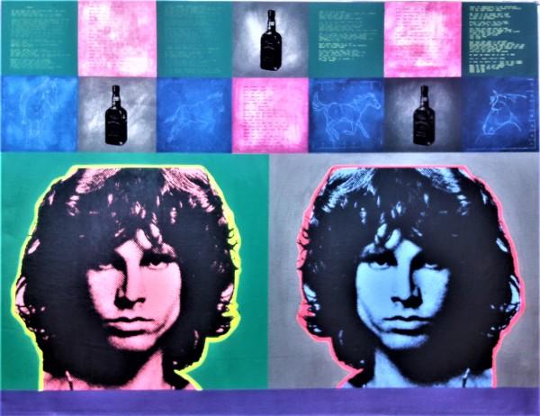"""Portrait of a Poet"" Jim #Morrison by b.b. la femme (Suzanne King) by B.B La Femme (Suzanne King)"
