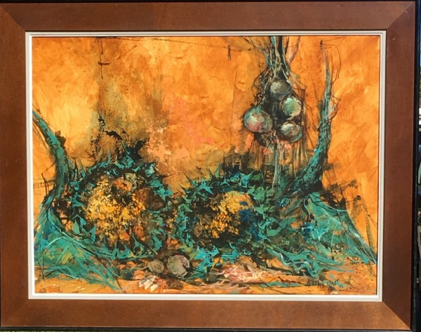 """Sonnenblumen"" by Didier Grandt by Didier Grandt"