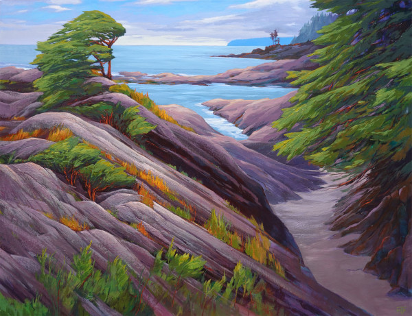 Botanical Beach Patterns by Tatjana Mirkov-Popovicki