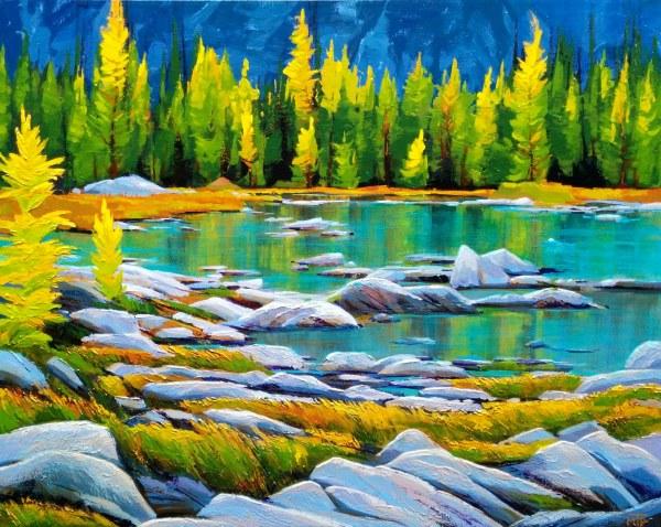 Cascade Lakes by Tatjana Mirkov-Popovicki