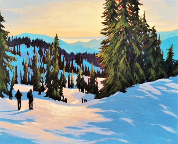 Diamond Head Trail Descent by Tatjana Mirkov-Popovicki