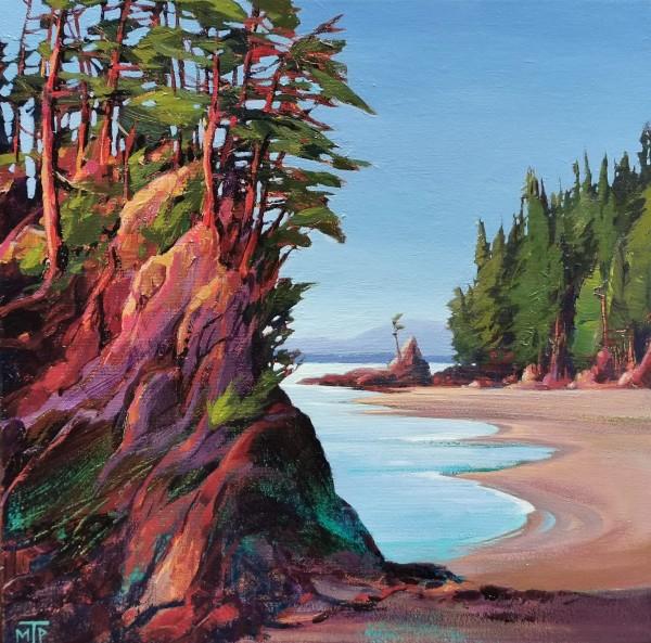 Brady's Beach by Tatjana Mirkov-Popovicki