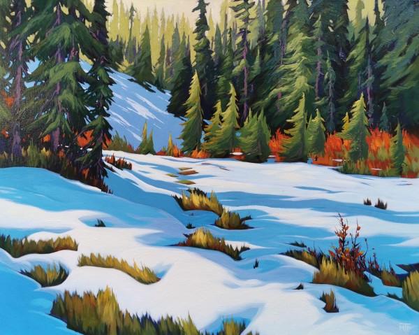 Taylor Meadows First Snow by Tatjana Mirkov-Popovicki