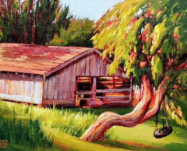Old Apple Tree by Tatjana Mirkov-Popovicki
