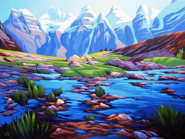Larch Valley by Tatjana Mirkov-Popovicki