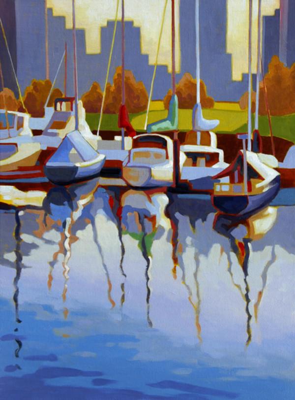 Evening on Water by Tatjana Mirkov-Popovicki