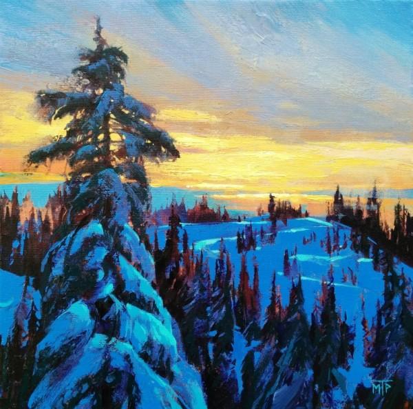 Winter Meditation by Tatjana Mirkov-Popovicki