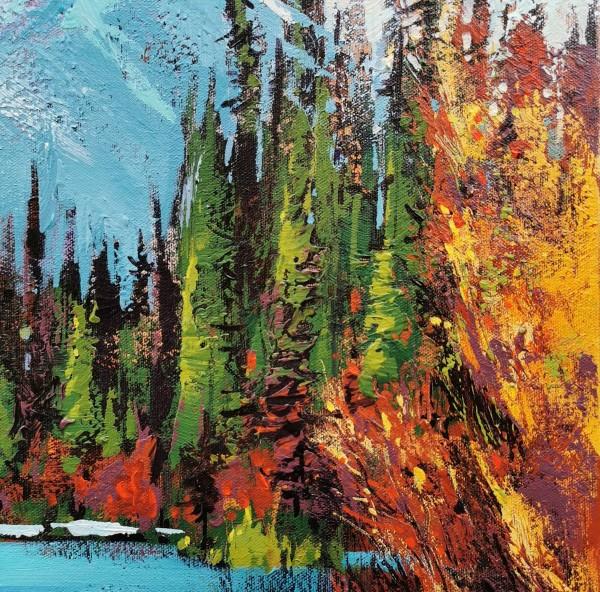 Vermilion Lakes Study II by Tatjana Mirkov-Popovicki