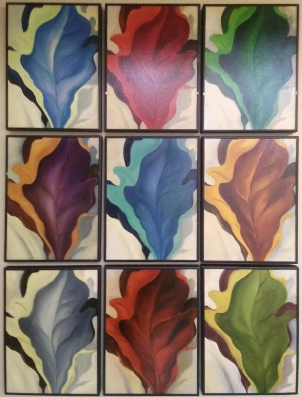 Nine Leaves by Ansley Pye