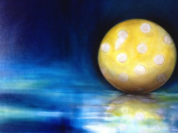 Yellow Ball by Ansley Pye