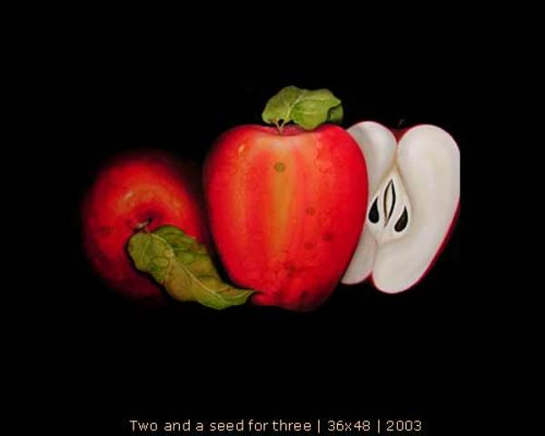 Two and the Seed for Three by Ansley Pye