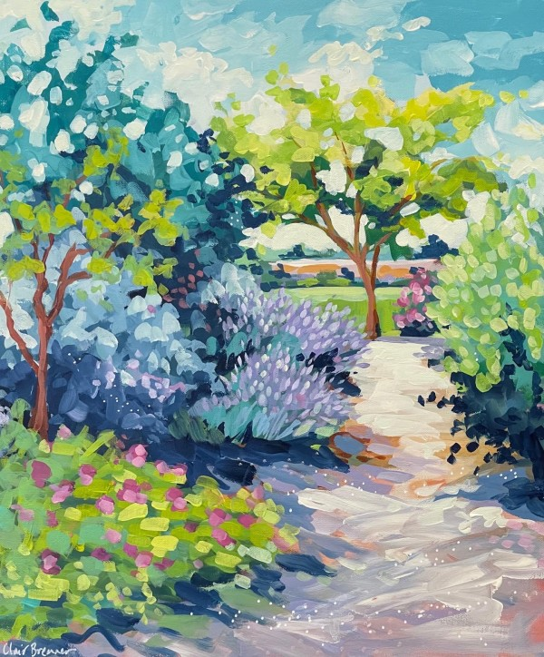 Lavender in the Sun by Clair Bremner