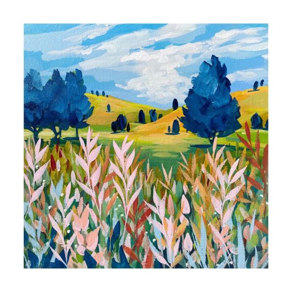 summer grass by Clair Bremner