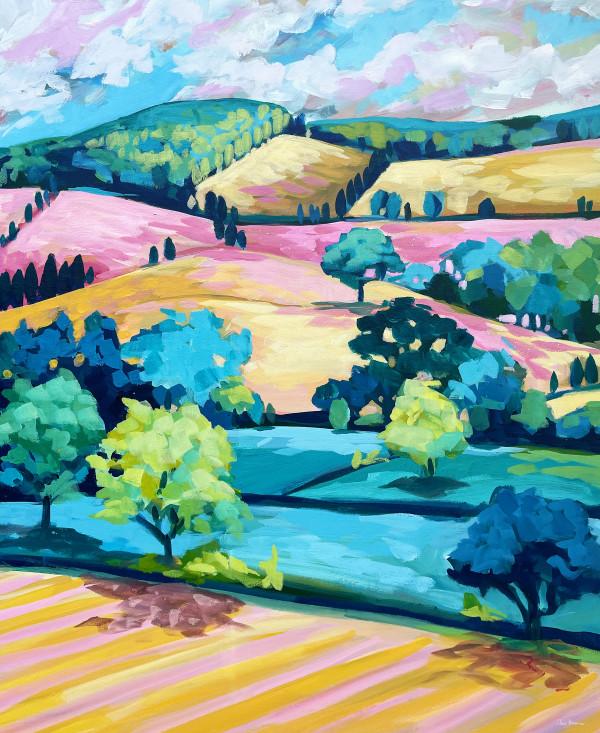 Autumn Flow by Clair Bremner